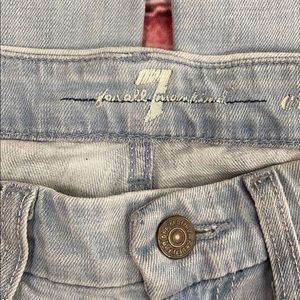 7 For All Mankind Jeans - 7 For All Mankind Cropped A Pocket Jeans